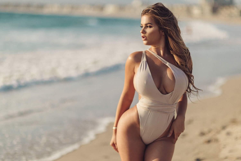 Как Анастасия Квитко (русская Кардашьян) добилась такой фигуры: Секреты модели и фото до — после
