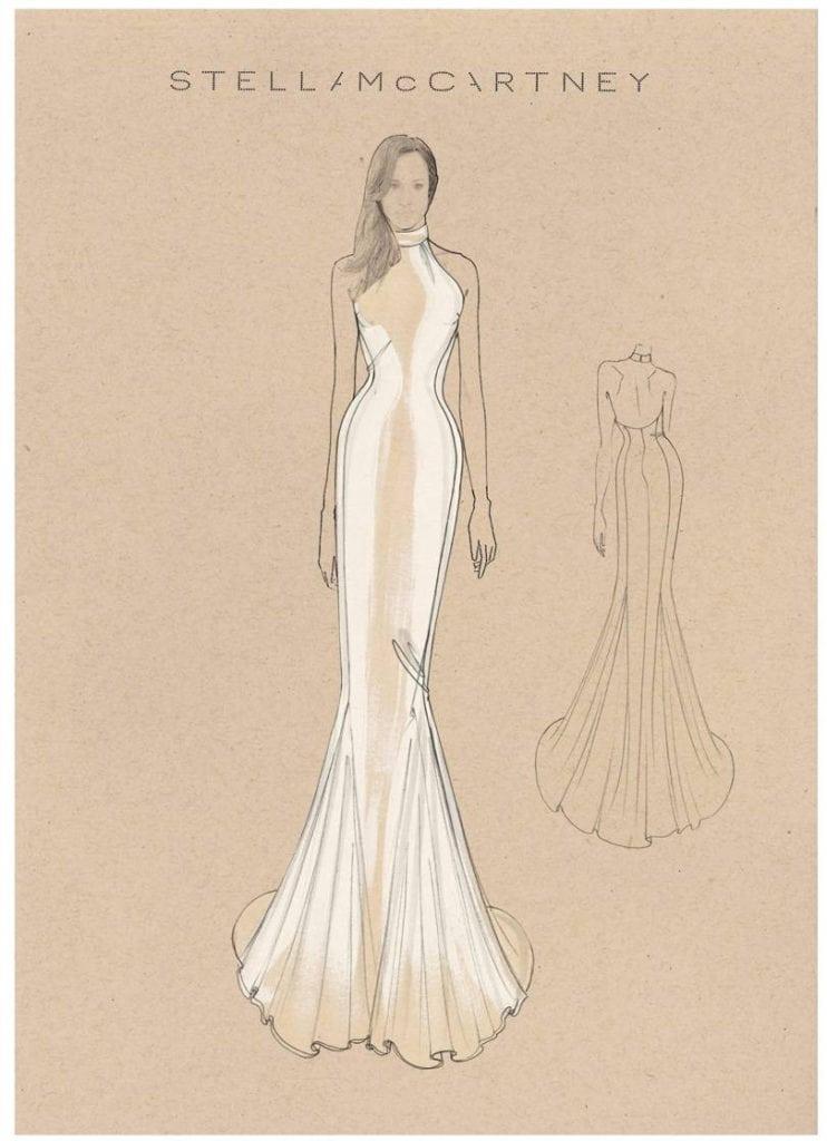 Stella McCartney создала коллекцию свадебных платьев как у Меган Маркл