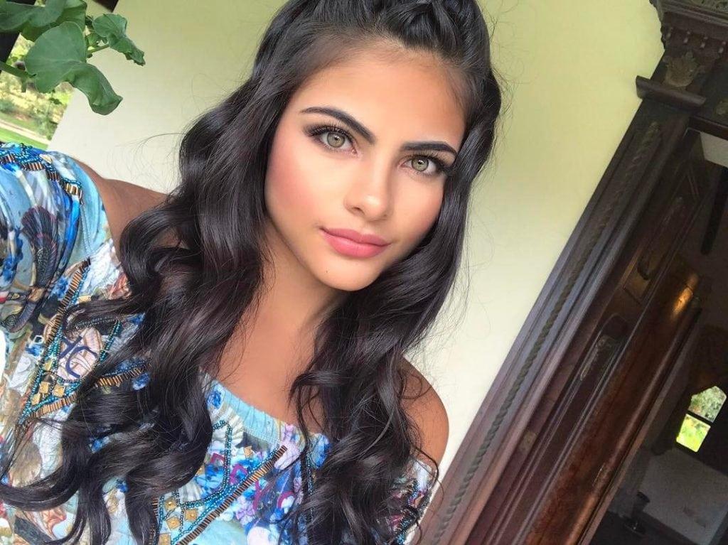 Самая красивая колумбийка Сара Оррего