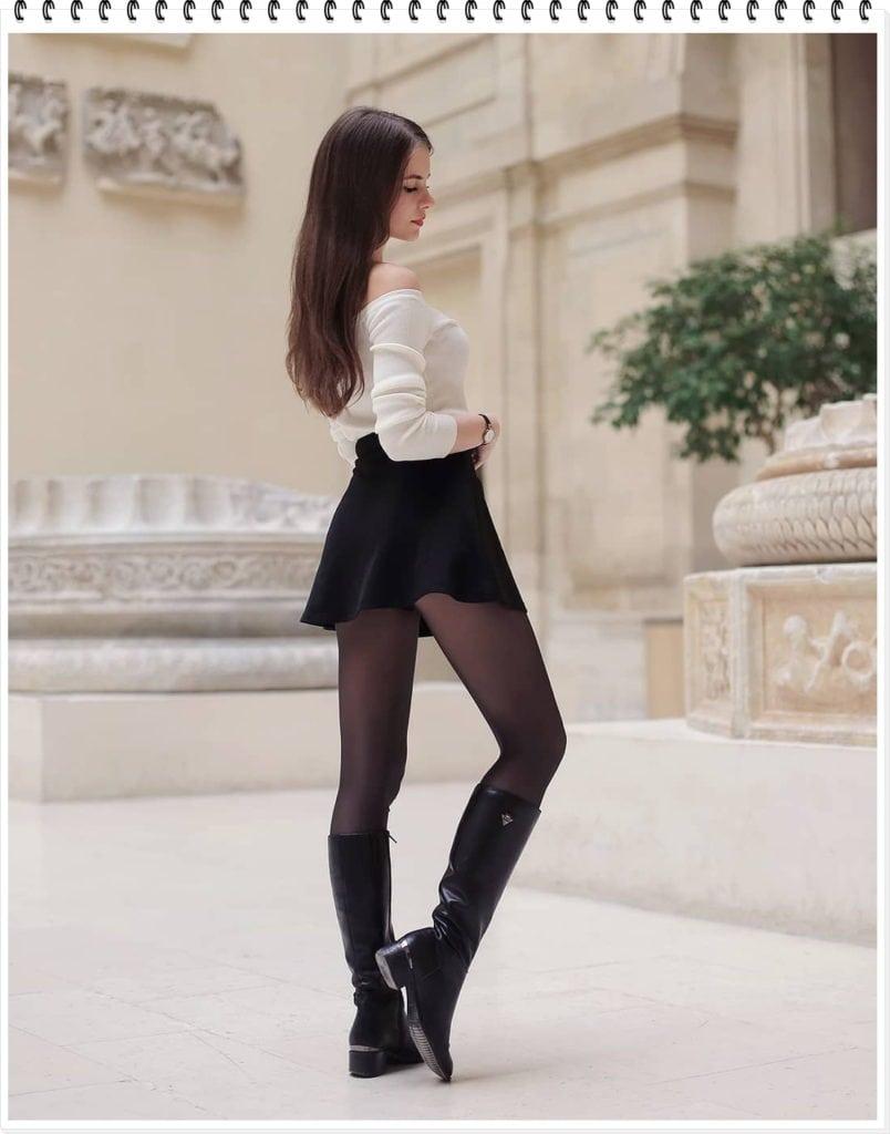 Прекрасные девушки в узких джинсах и не только!