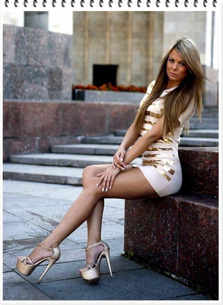 BEAUTY. Горячий пост — девушки в мини-платьях
