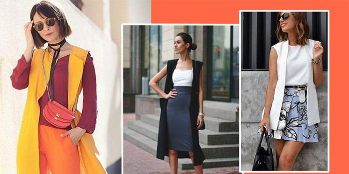 Как стильно носить удлиненный жилет: классные летние варианты