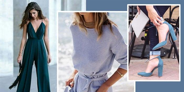 12 образов в синих тонах, которые обеспечат вам восхищенное внимание