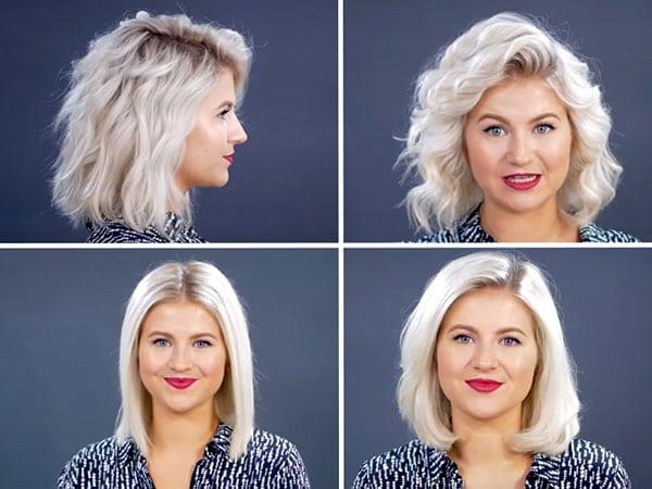 Как уложить короткие волосы с помощью утюжка: 5 классных вариантов