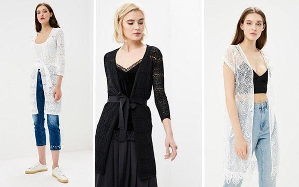 Как носить кардиган летом: лучшие варианты 2018 для модных леди