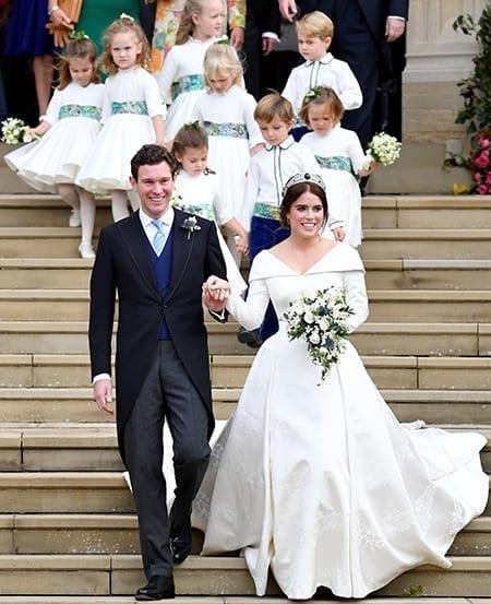 Дональд Трамп поздравил принцессу Евгению со свадьбой, но ошибся с датой