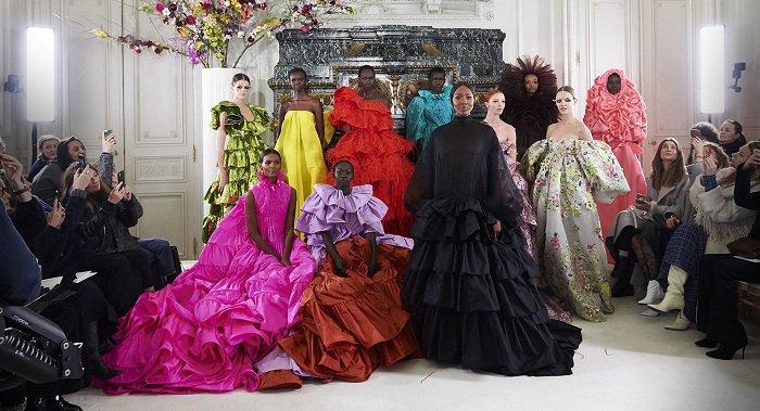 По следам последнего показа haute couture в Париже