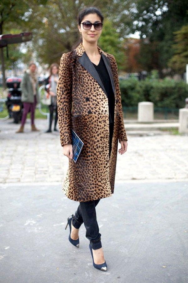 Животный принт: что будут носить европейские модницы этой весной