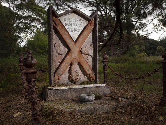 Игры престолов кладбище в Сиднее