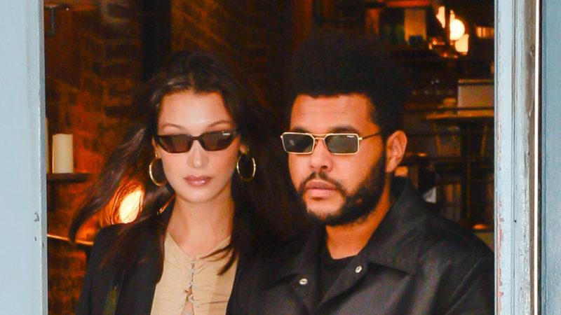 Белла Хадид отдохнула на Карибах с рэпером The Weeknd