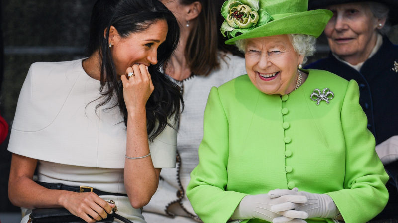 Меган Маркл решила рожать дома по примеру королевы Елизаветы II