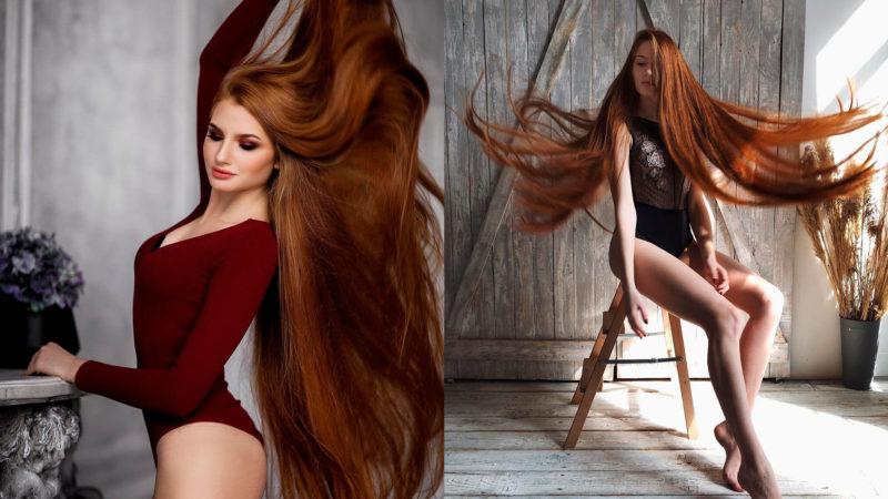 Девушка с невероятными рыжими волосами стала звездой в Instagram